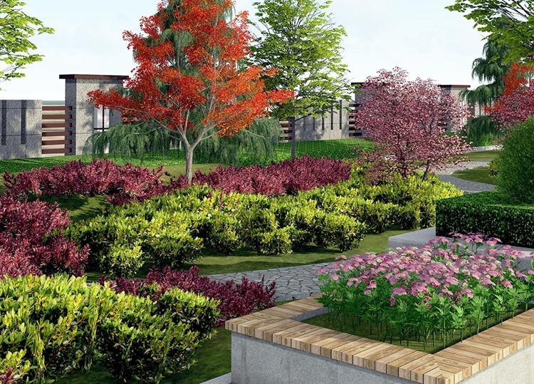 庭院绿化设计处理好几种关系