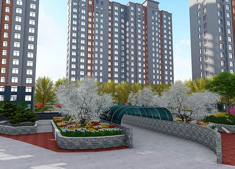 陕西华阴金御城小区规划