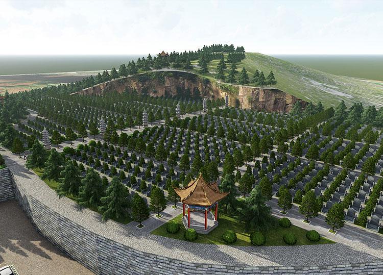 安徽官桥镇公墓