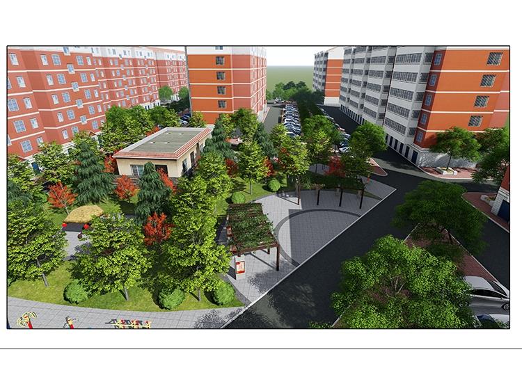 高新区绿色家园小区景观规划